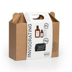 Depot Invigorating Promo Kit Travel Pochete
