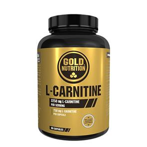 L-Carnitine GoldNutrition 750mg 60 cápsulas