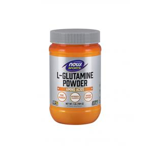 L- glutamina em pó (glutamine powder free form vegetarian) - Now Sports