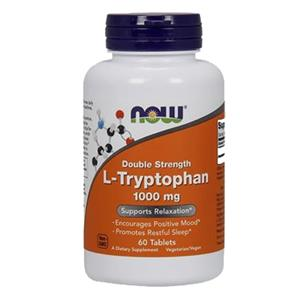 L-Tryptophan 1000mg - NOW