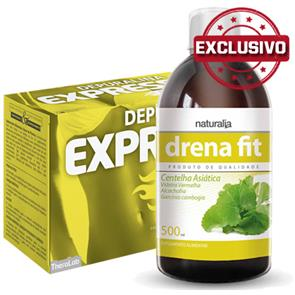Pack Depuralina Express + Drena Fit Naturalia