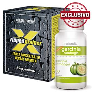 Pack Garcinia Cambogia + Extreme Cut Ripped Drainer