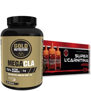 Pack Super L-Carnitina 4000 + Mega CLA