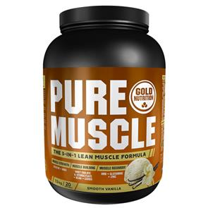 Pure Muscle Baunilha 1,5Kg Goldnutrition